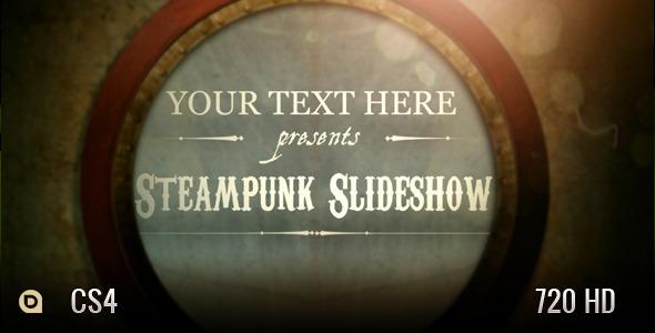 VideoHive Steampunk Slideshow 2955538
