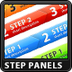 Great Step Process Panels - GraphicRiver Item for Sale