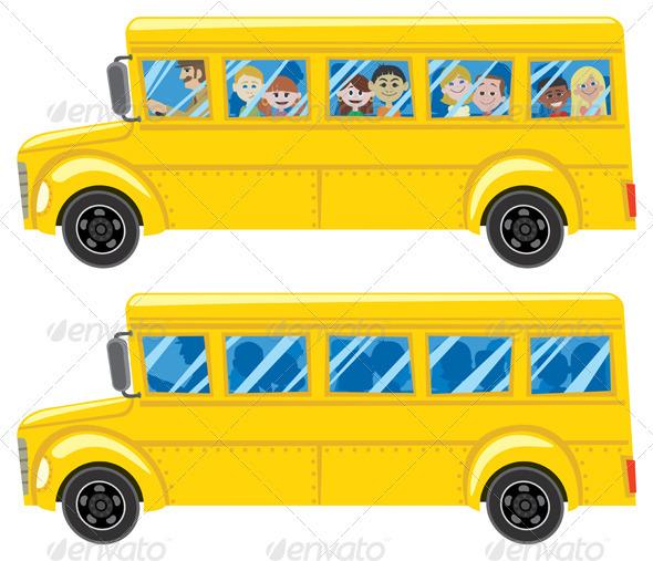 GraphicRiver School Bus 102303
