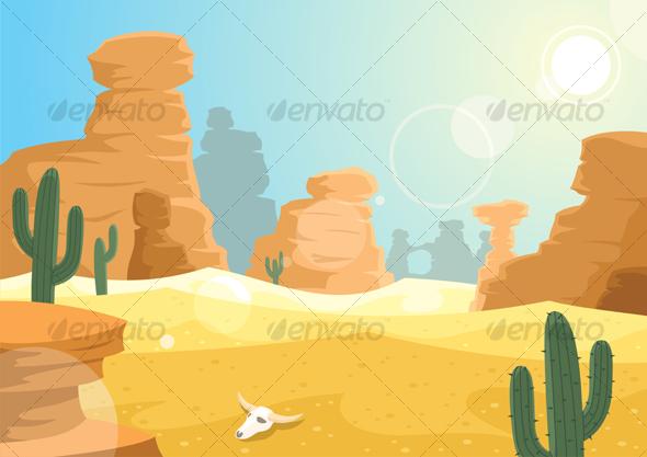 GraphicRiver Desert 88054