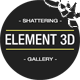 Shattering Gallery Promo - VideoHive Item for Sale