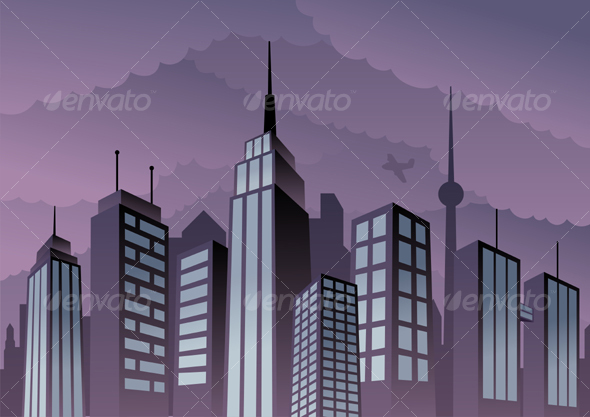 Cityscape - Buildings Objects
