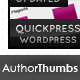 Web 2.0 Styled Author Thumbnails - GraphicRiver Item for Sale