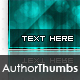 Great Author Thumbnails Vol. 2 - GraphicRiver Item for Sale