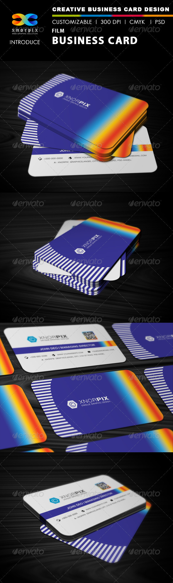 Film Business Card - Corporate Business Cards