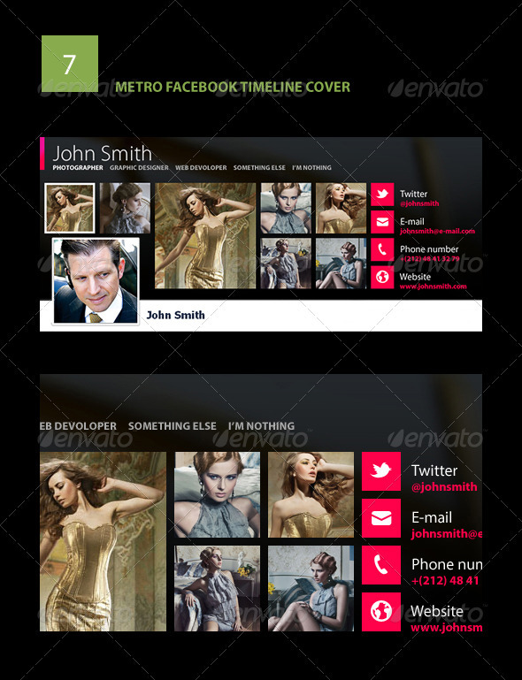 GraphicRiver Metro Facebook Timeline Cover 2941470