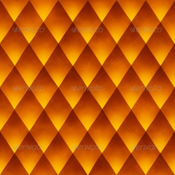Orange Dragon Scales Background (Seamless) - Stock Photo - Images