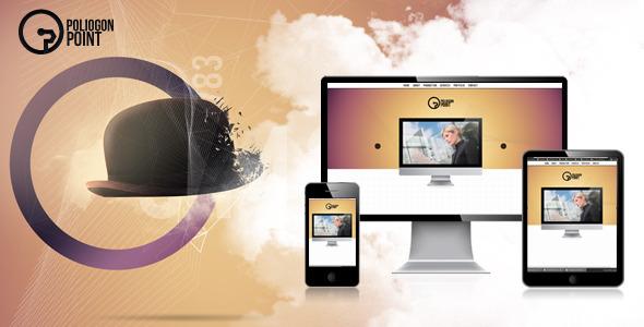 PoligonPoint - Responsive Business Onepage