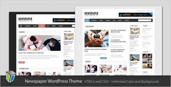 Newspaper - Blog and Magazine WordPress Theme