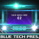 Blue Tech Dynamic Presentation - VideoHive Item for Sale