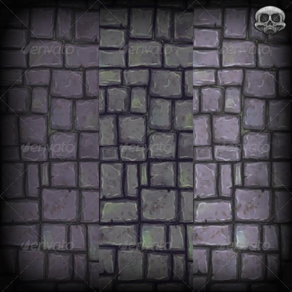Stone Slab Floor Texture Tile - 3DOcean Item for Sale