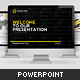 Black & Yellow Presentation Template - GraphicRiver Item for Sale