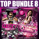 Top Flyer Bundle Vol8 - GraphicRiver Item for Sale