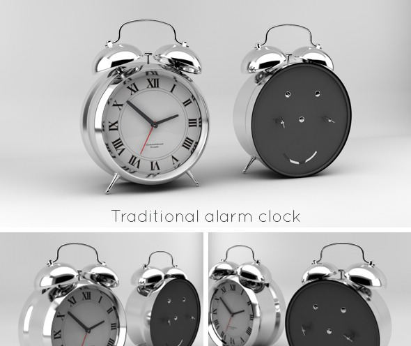 3DOcean Traditional alarm clock 2952759