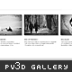 Papervision 3D Gallery - ActiveDen Item for Sale