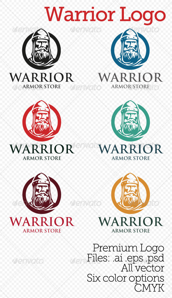 Warrior Logo Templates From Graphicriver