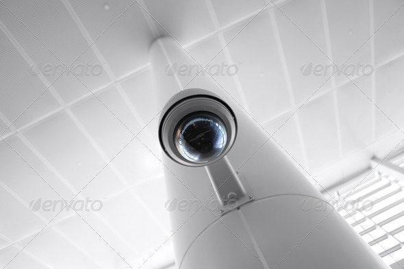 PhotoDune Security Camera in Government Owned Building 2964704
