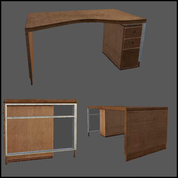 3DOcean Office Desk 2962835