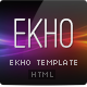 EKHO Unique Template - ThemeForest Item for Sale