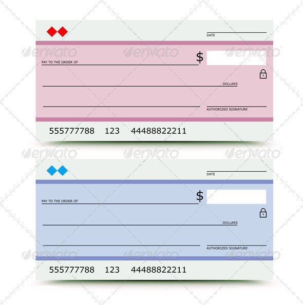 GraphicRiver Bank chek 2963652