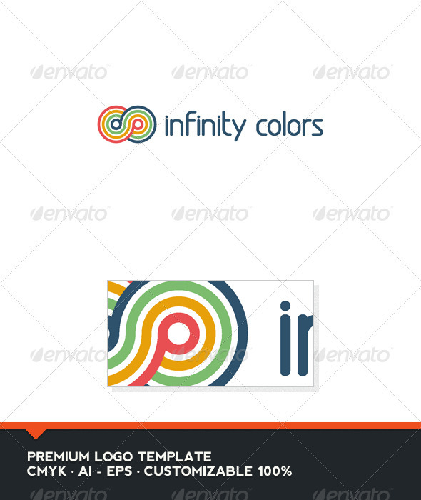 Infinity Colors Logo Template - Symbols Logo Templates