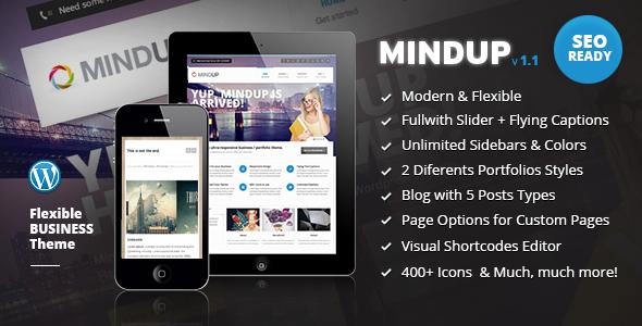 MindUp - Tema Corporativo Flexible para WordPress