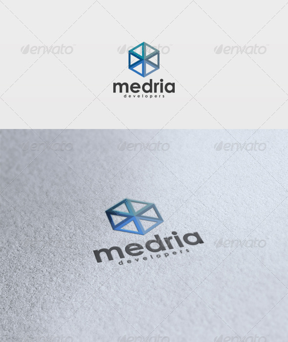 Medria Logo - Vector Abstract