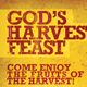 God's Harvest Feast Church Flyer Template - GraphicRiver Item for Sale