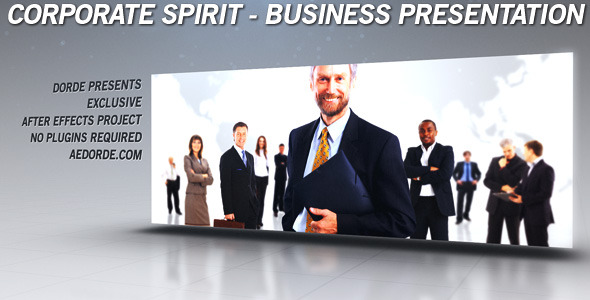 VideoHive Corporate Spirit Business Presentation 2965818