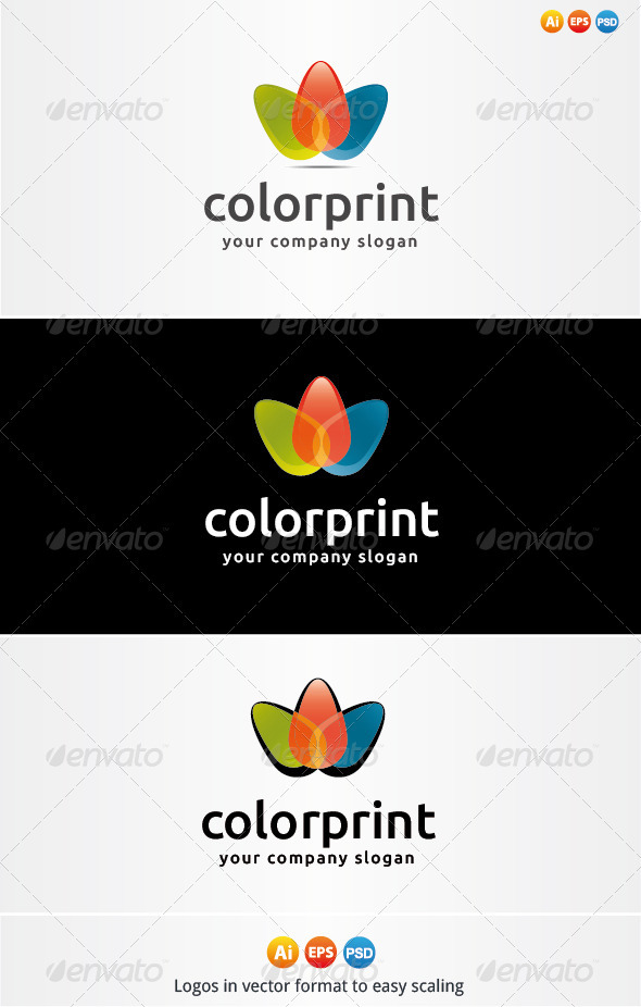 Color Print Logo - Nature Logo Templates