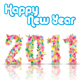 New Year 2011 With Floral Design - GraphicRiver Item for Sale