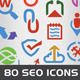 SEO Service Icon Set - GraphicRiver Item for Sale