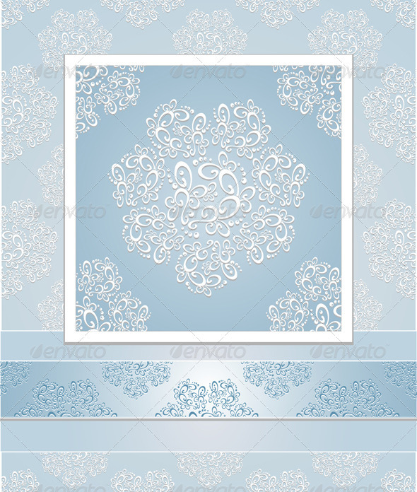 Set seamless patterns lace - Patterns Decorative