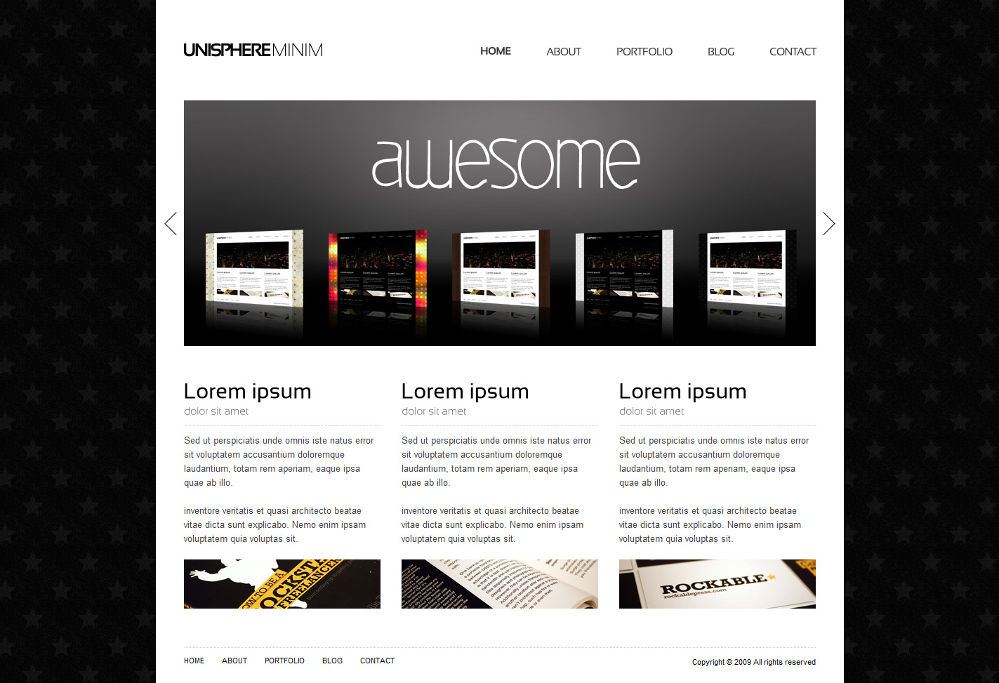 UniSphere Minim Corporate and Portfolio