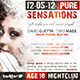 Pure Sensations Party Flyer - GraphicRiver Item for Sale