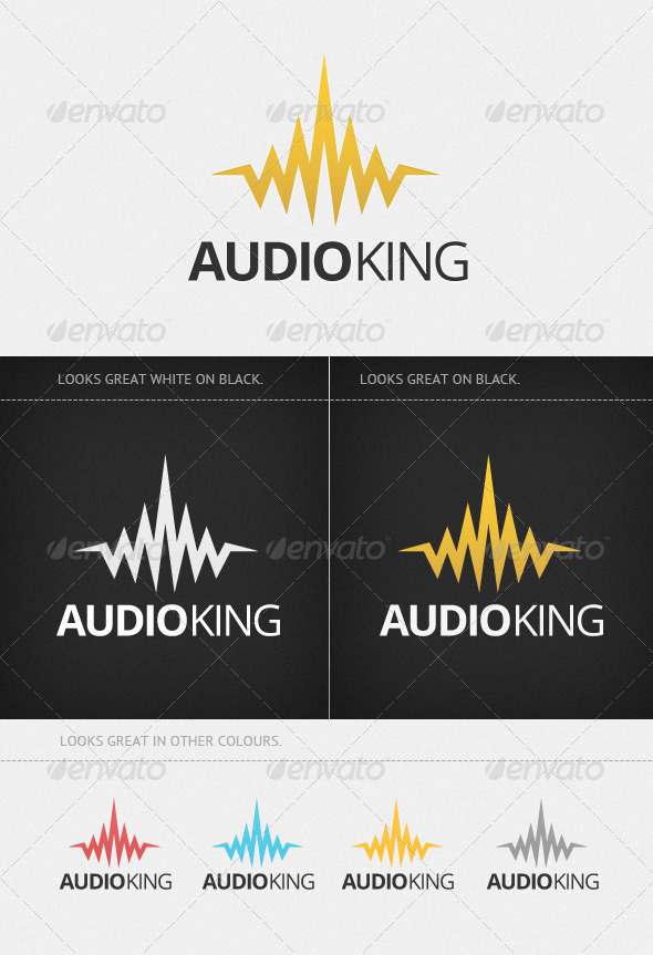 Audio King - Vector Abstract