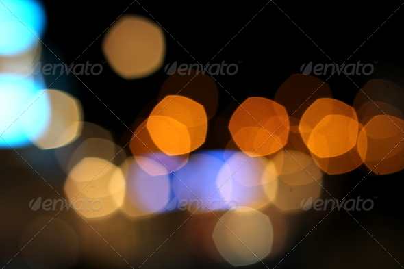 city bokeh background - Stock Photo - Images
