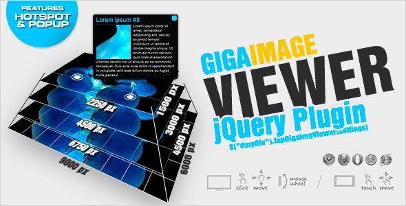 CodeCanyon jQuery Giga Image Viewer animated zoom and pan 2970559