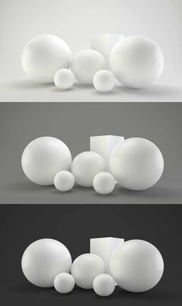 Professional editable studio - 3DOcean Item for Sale