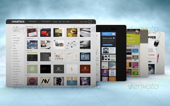 Mock-up Master - Product Display Series 03 - Website Displays