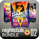 Nightclub Flyer Bundle | 002 - GraphicRiver Item for Sale