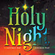 Holy Night Church Play Flyer Template - GraphicRiver Item for Sale