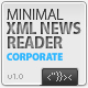 Minimal XML News Reader AS2 v.1.0 - ActiveDen Item for Sale
