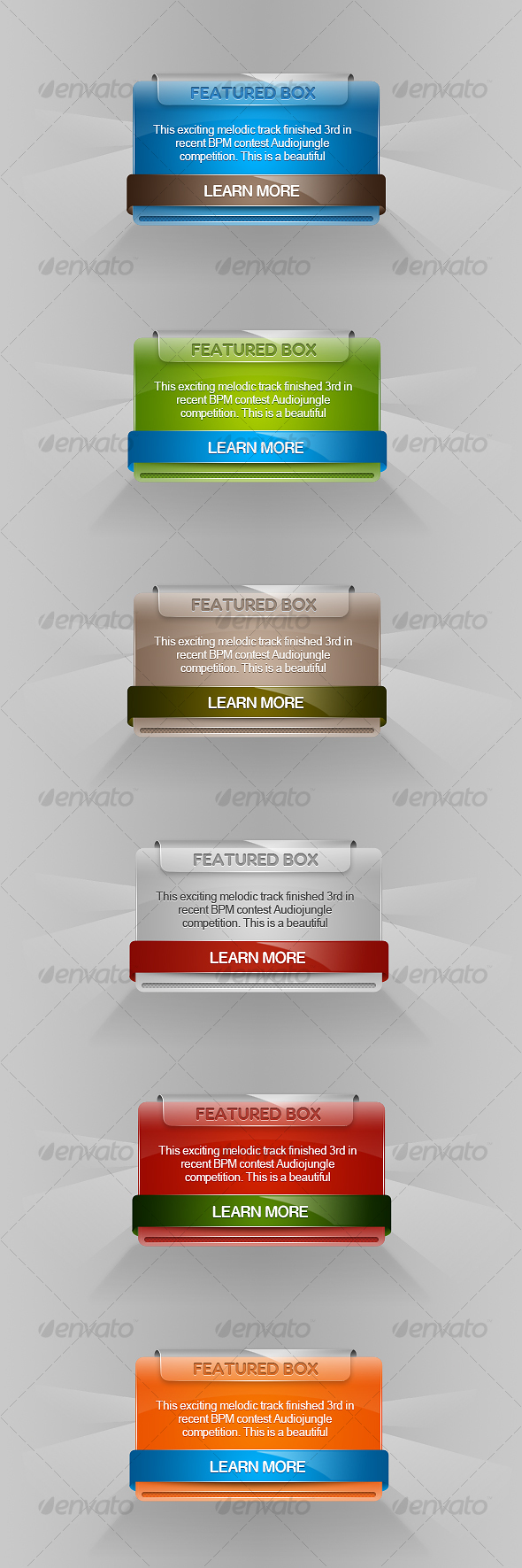 GraphicRiver Plastic Web Boxes 105038