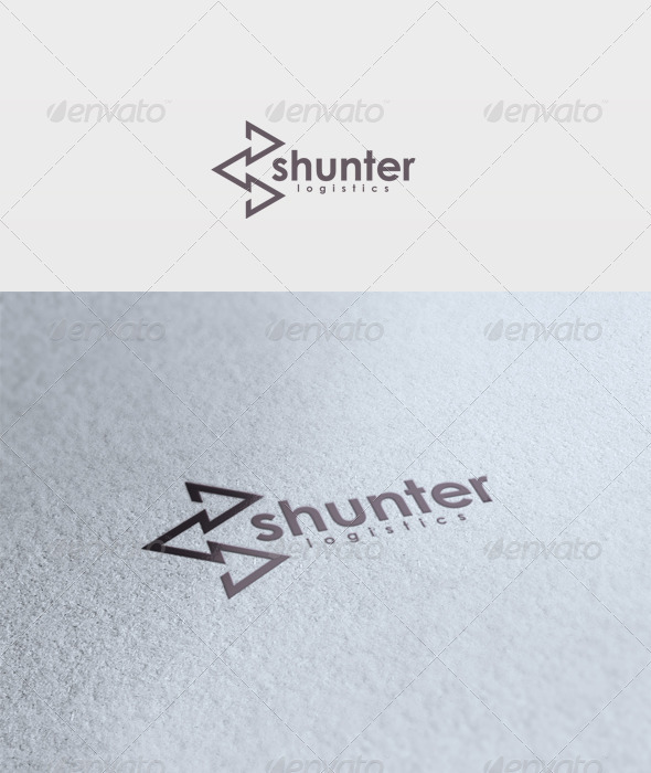 Shunter Logo - Vector Abstract