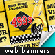 Yellow Deal Web Banners - GraphicRiver Item for Sale