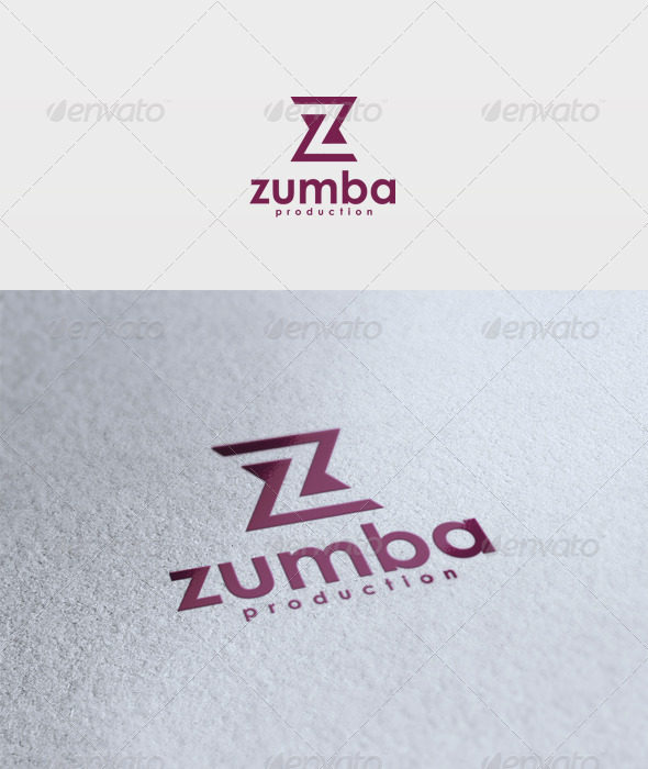 Zumba Logo - Letters Logo Templates