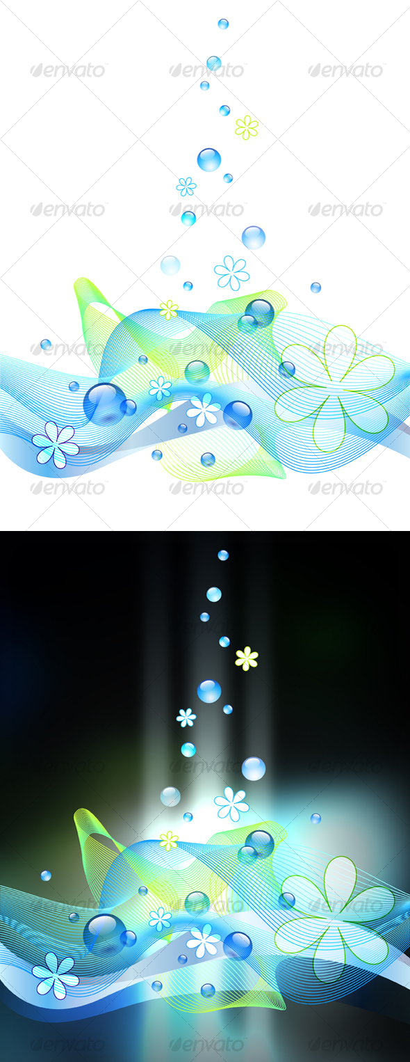 Bubbly Background - Abstract Backgrounds