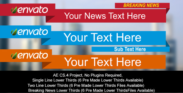 VideoHive Lower Thirds 2932591