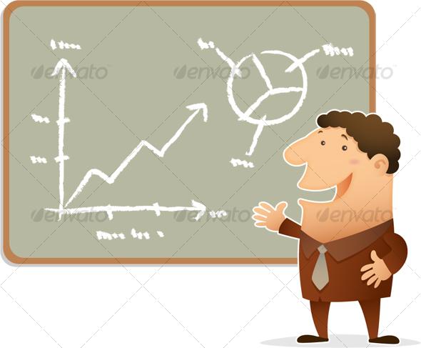 GraphicRiver Businessman Presentation 106045